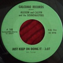Allison And Calvin – Stinky Franky / Just Keep On Doing It