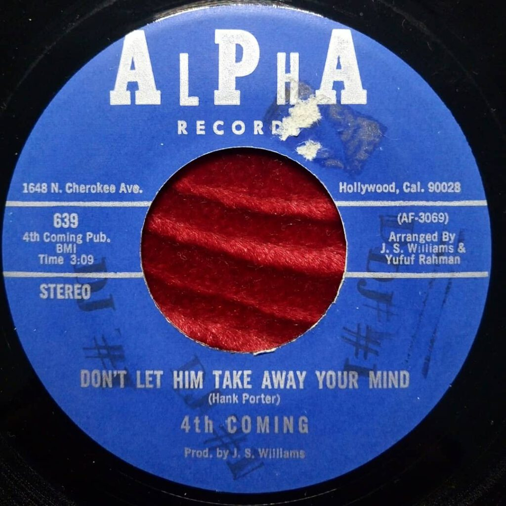 4th Coming – Don't Let Him Take Away Your Mind ⋆ Florian Keller - Funk Related
