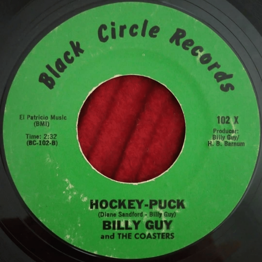 Billy Guy And The Coasters ‎- Hockey-Puck ⋆ Florian Keller - Funk Related