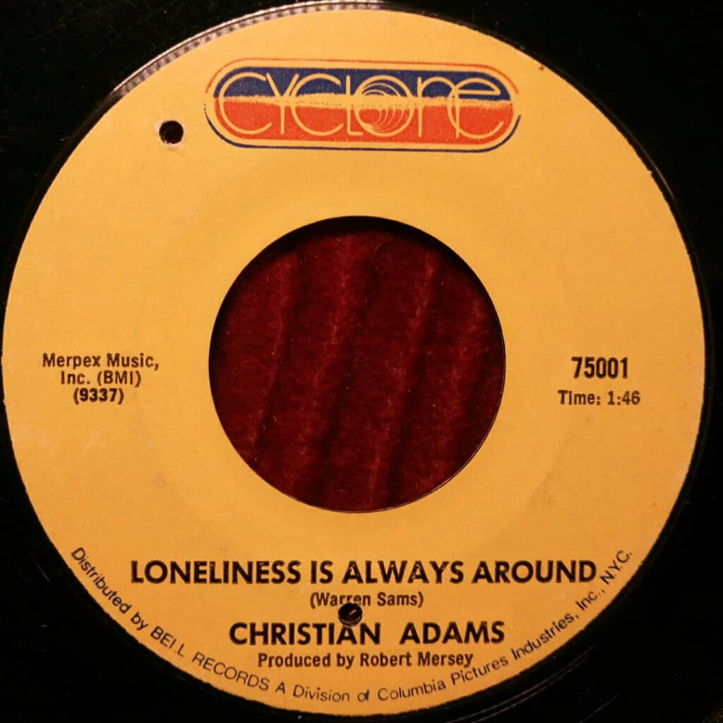 Christine Adams - Loneliness Is All Around ⋆ Florian Keller - Funk Related