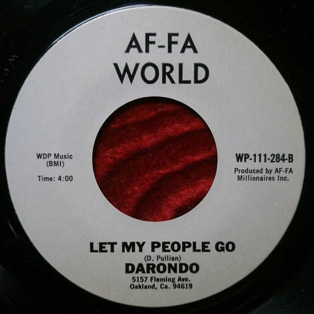 Darondo - Let My People Go - Legs ⋆ Florian Keller - Funk Related