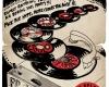 Funk Related Clubnight w. Florian Keller & Martin Ganter, poster, artwork, Old School flyer