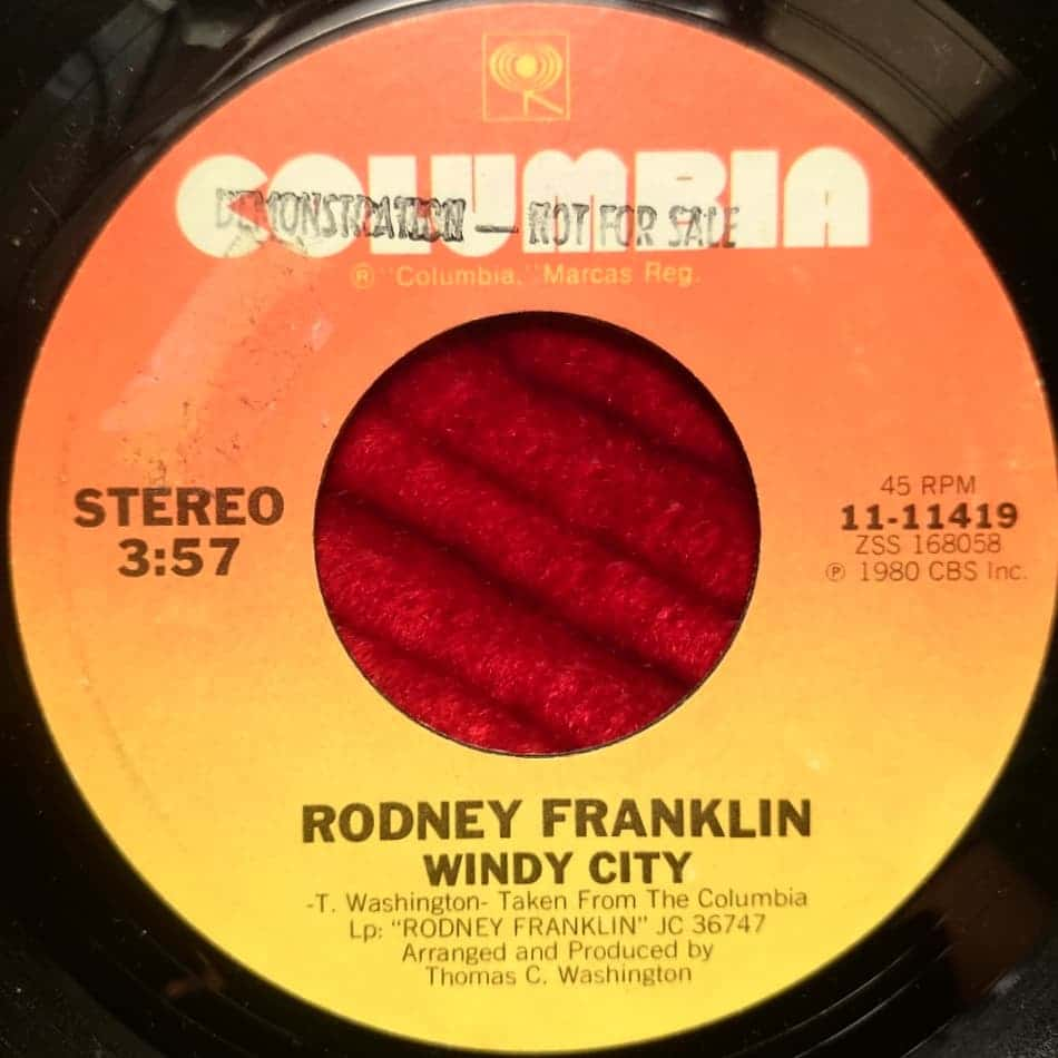 Rodney Franklin - Windy City - Florian Keller - Funk Related