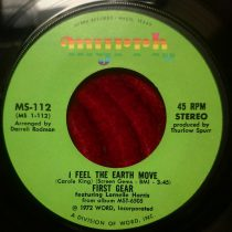 First Gear – I Feel The Earth Move