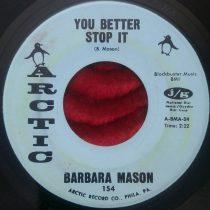 Barbara Mason – You Better Stop It