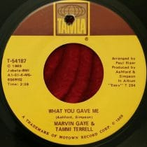 Marvin Gaye & Tammi Terrell ‎- What You Gave Me