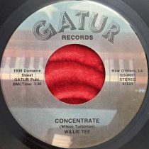Willie Tee ‎- Concentrate