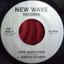 J. Junior Holmes ‎- Love Inspection