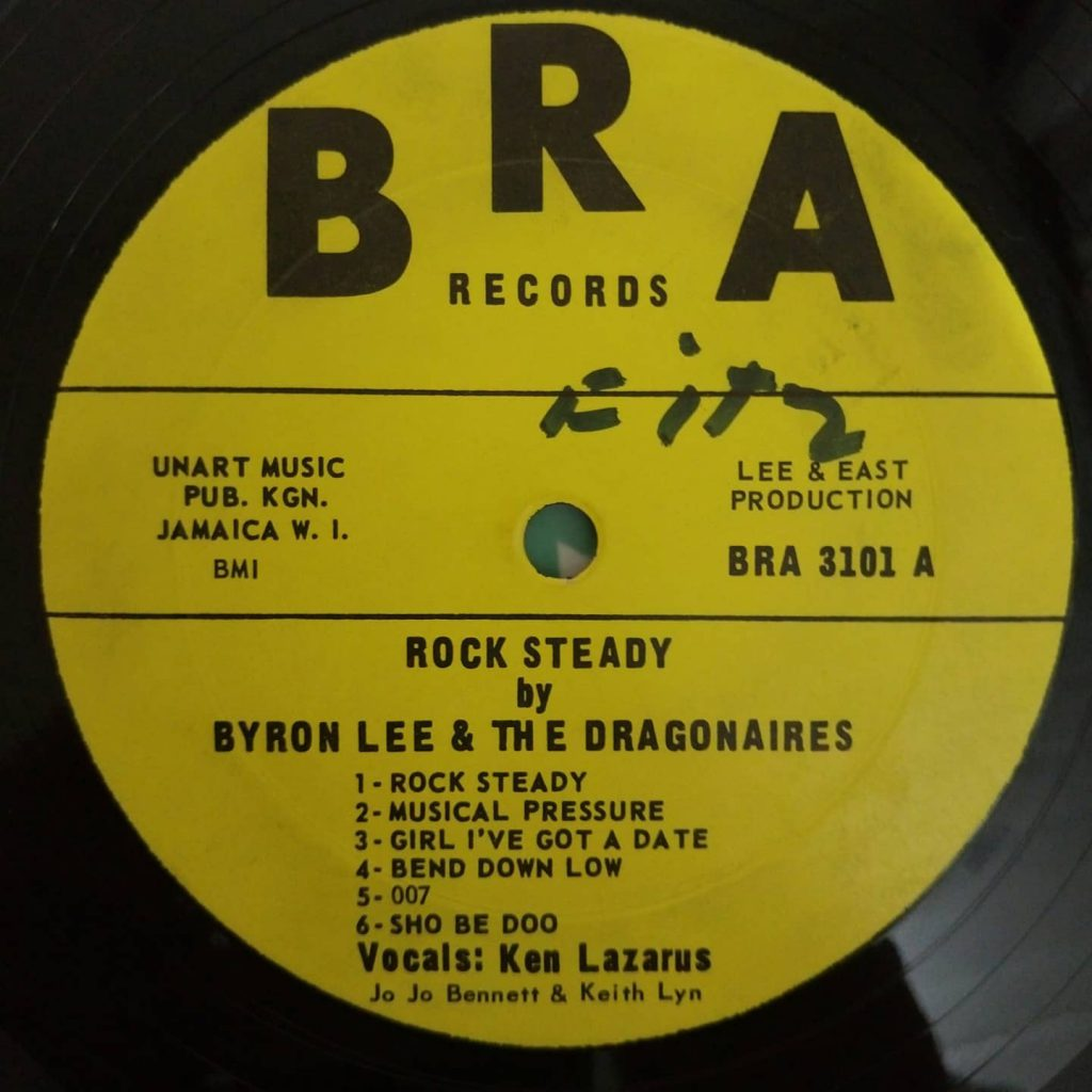 Byron Lee And The Dragonaires – Rock Steady - Florian Keller - Funk Related