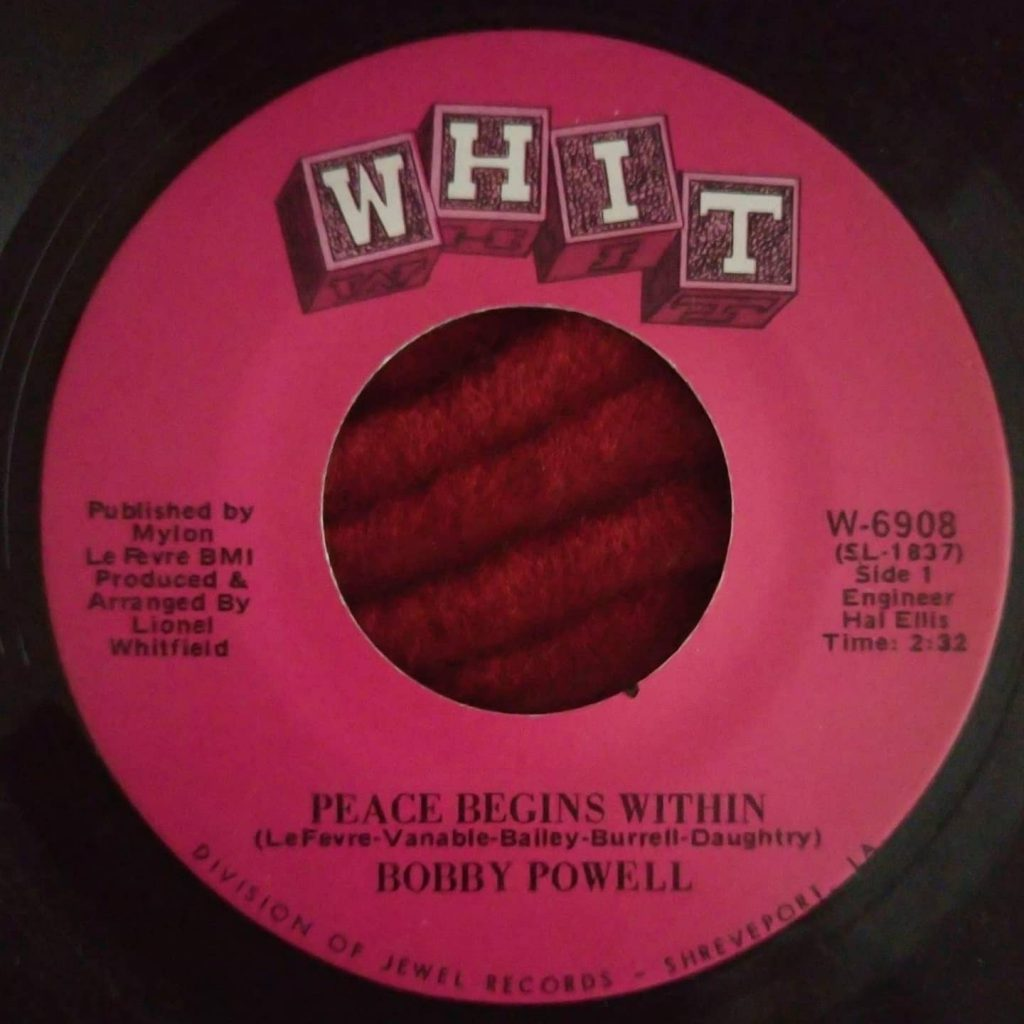 Bobby Powell – Peace Begins Within - Florian Keller - Funk Related