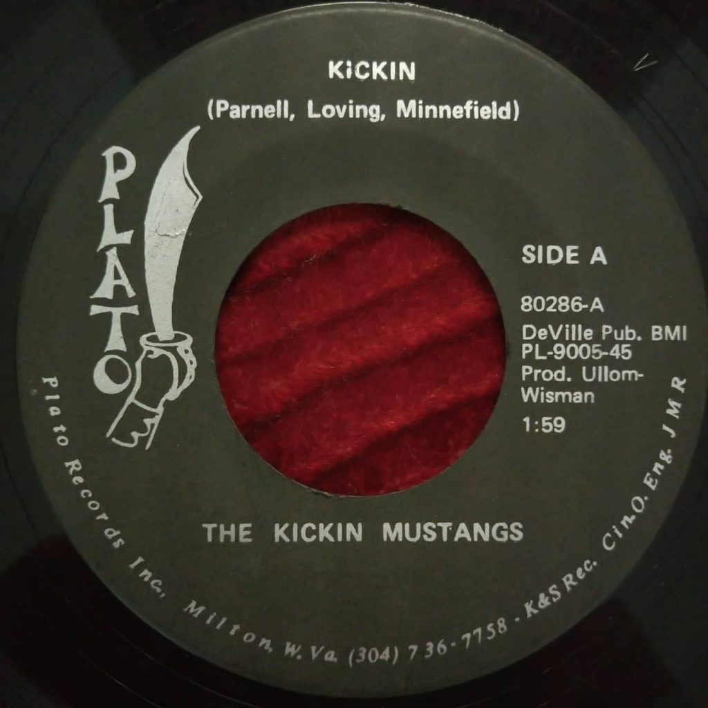 Kickin Mustangs, The – Kickin -Plato Records - Florian Keller - Funk Related