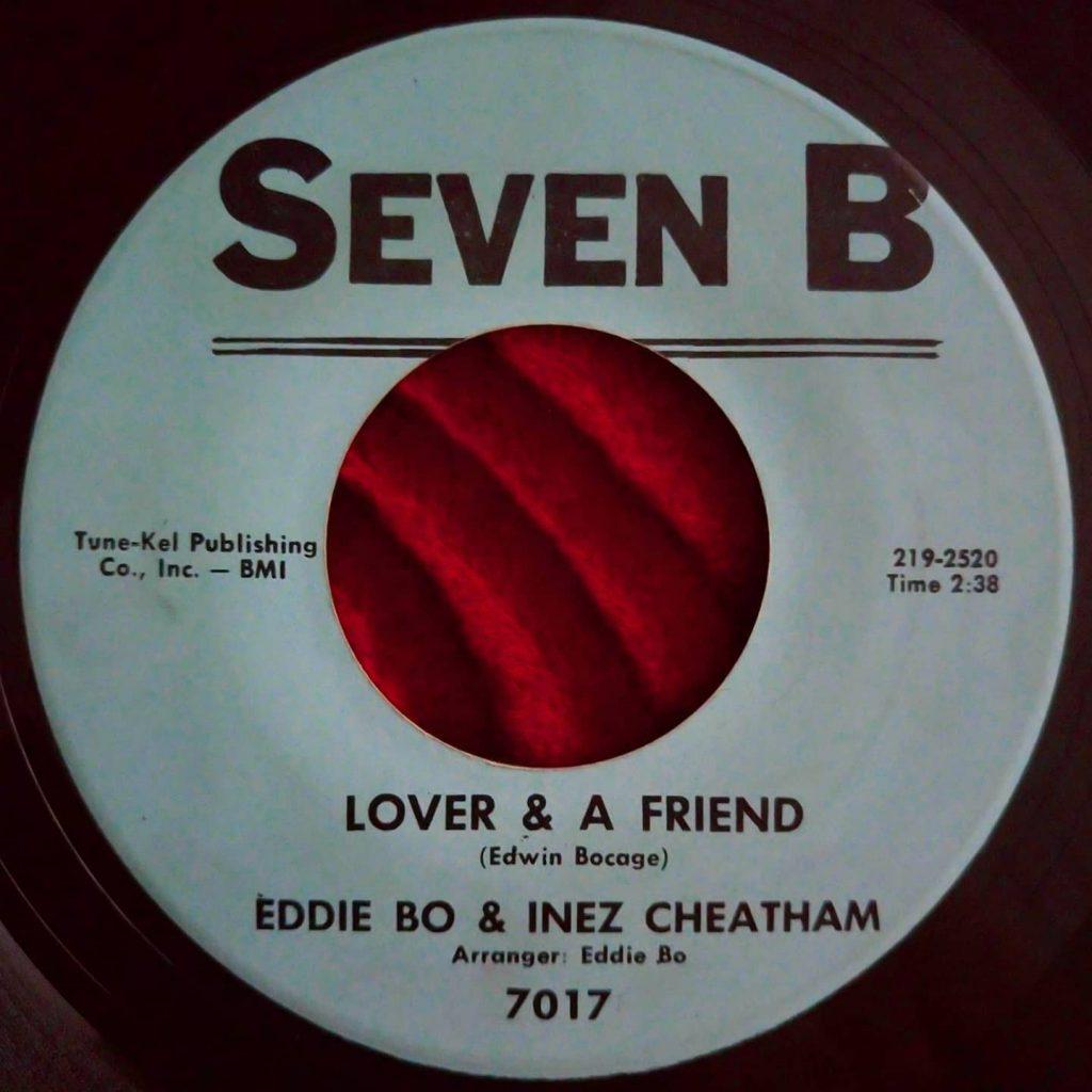 Eddie Bo & Inez Cheatham – Lover & A Friend - Florian Keller - Funk Related