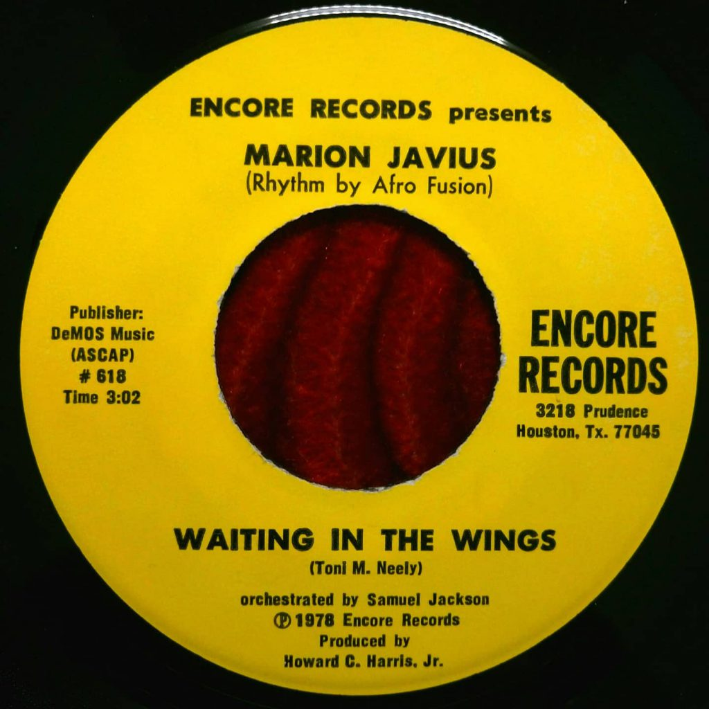 Marion Javius ‎– Waiting In The Wings - Florian Keller - Funk Related