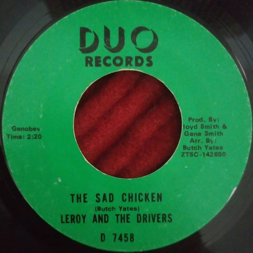 Leroy And The Drivers - The Sad Chicken - Florian Keller - Funk Related