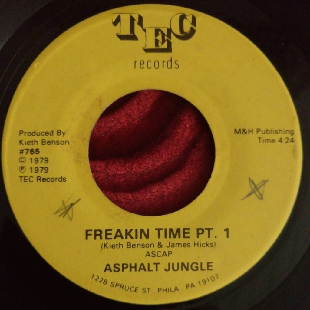 Asphalt Jungle - Freakin Time - Florian Keller - Funk Related