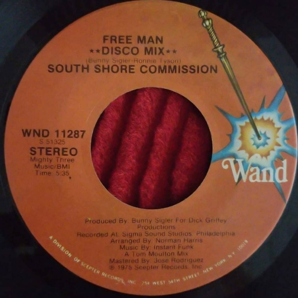 South Shore Commission ‎– Free Man - Florian Keller - Funk Related