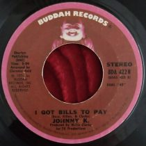 Johnny K  ‎– I Got Bills To Pay
