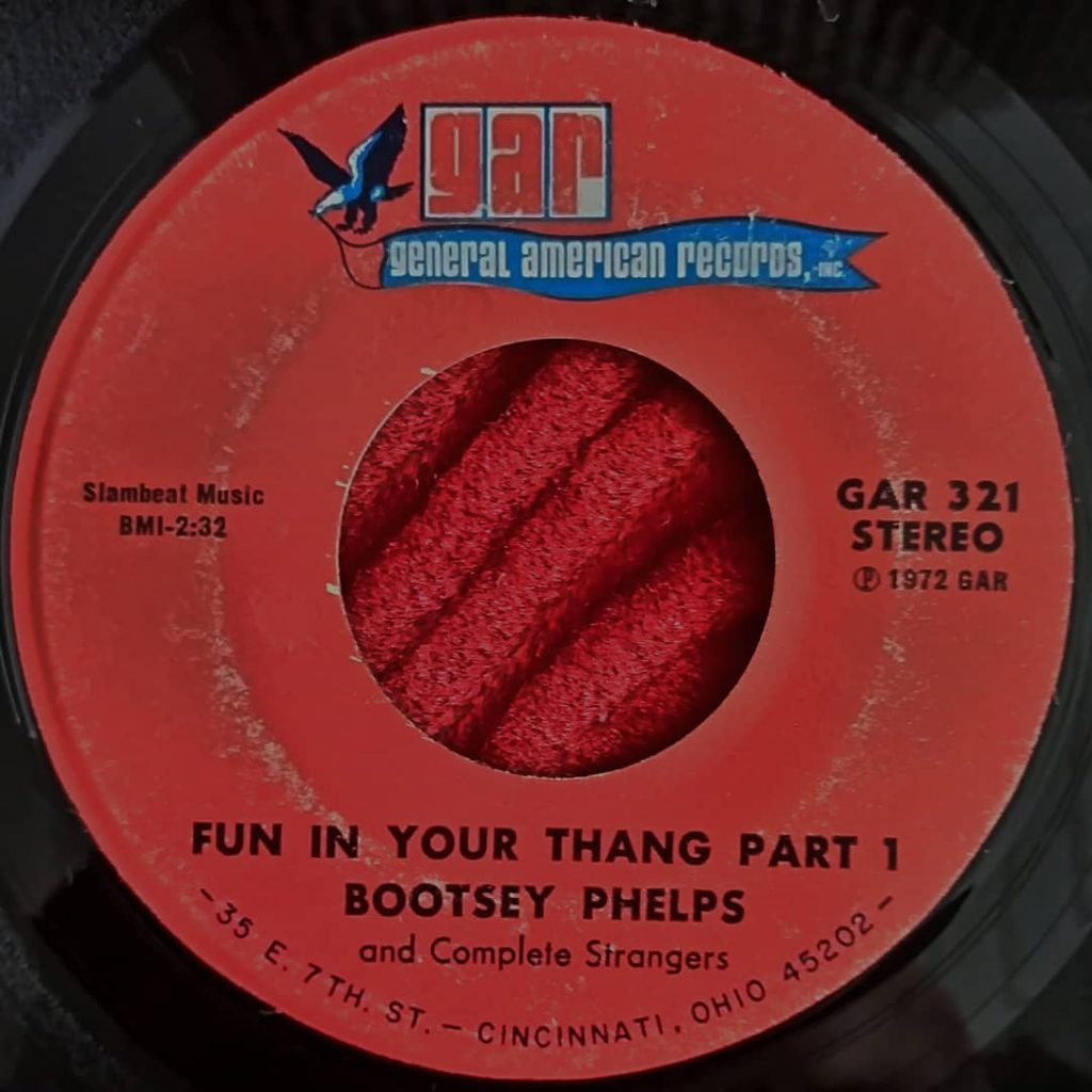 Bootsey Phelps And Complete Strangers ‎– Fun In Your Thang - Bootsy Collins - Florian Keller - Funk Related