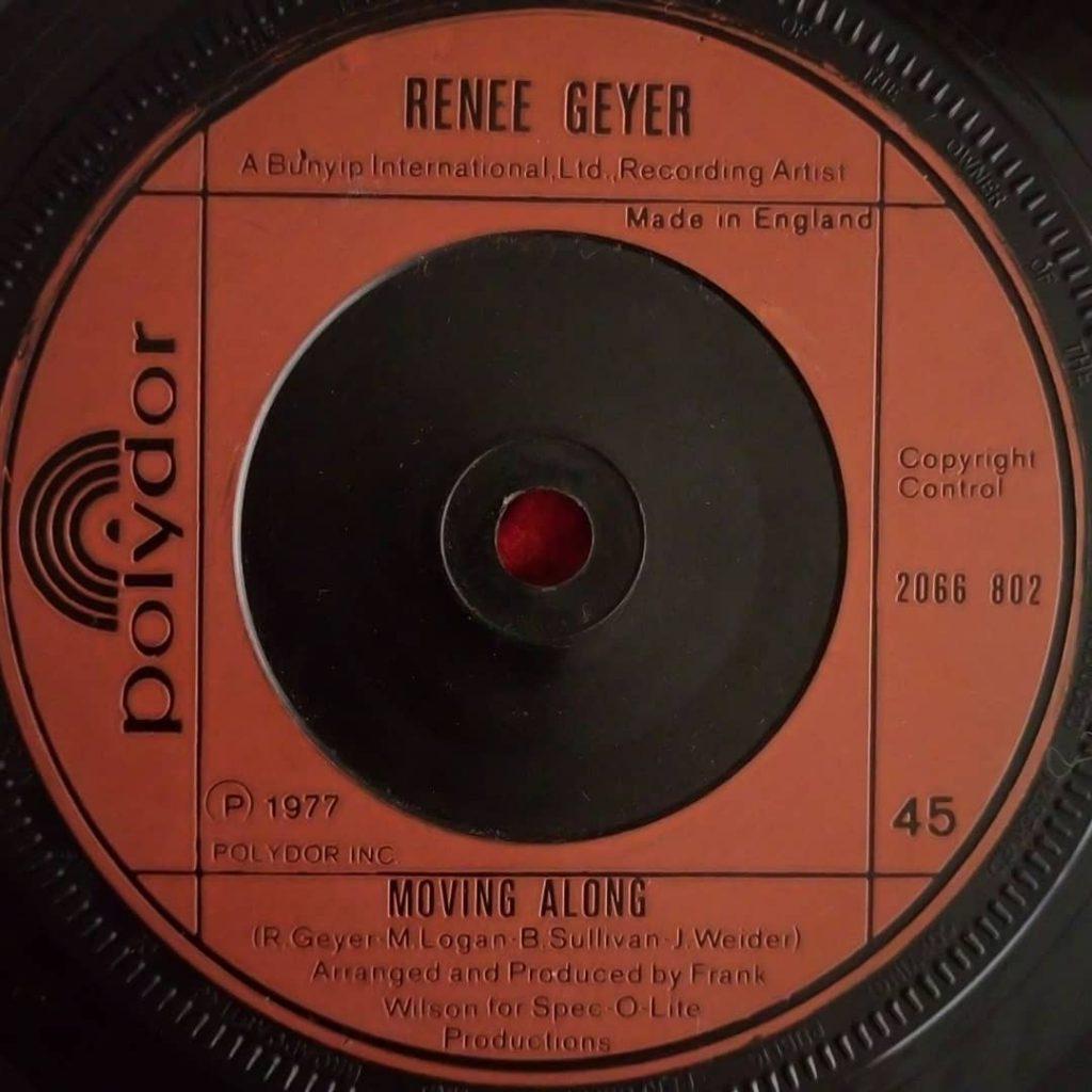 Renee Geyer – Moving Along ⋆ Florian Keller - Funk Related
