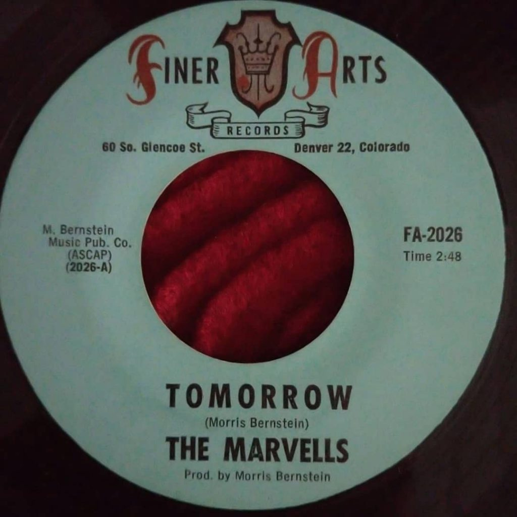 Marvells – Tomorrow ⋆ Florian Keller - Funk Related