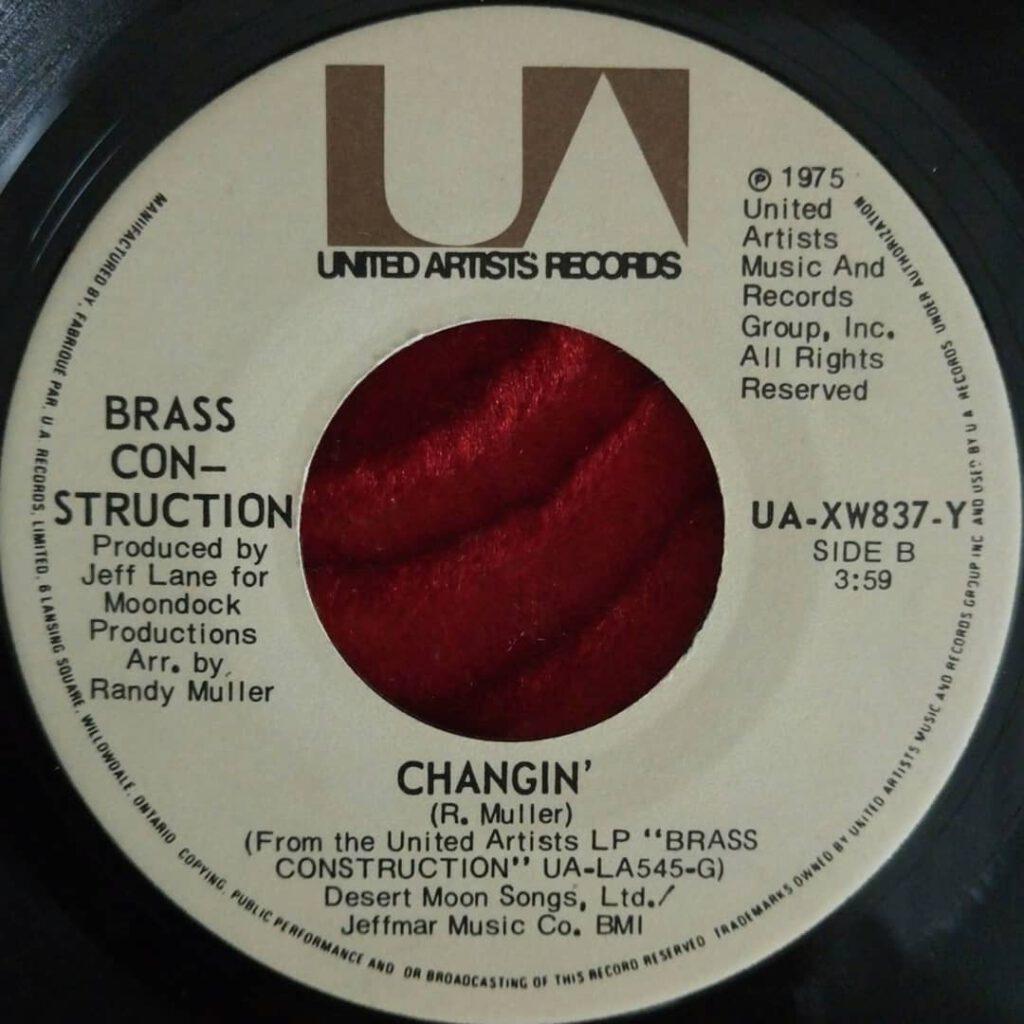 Brass Construction – Changin' ⋆ Florian Keller - Funk Related