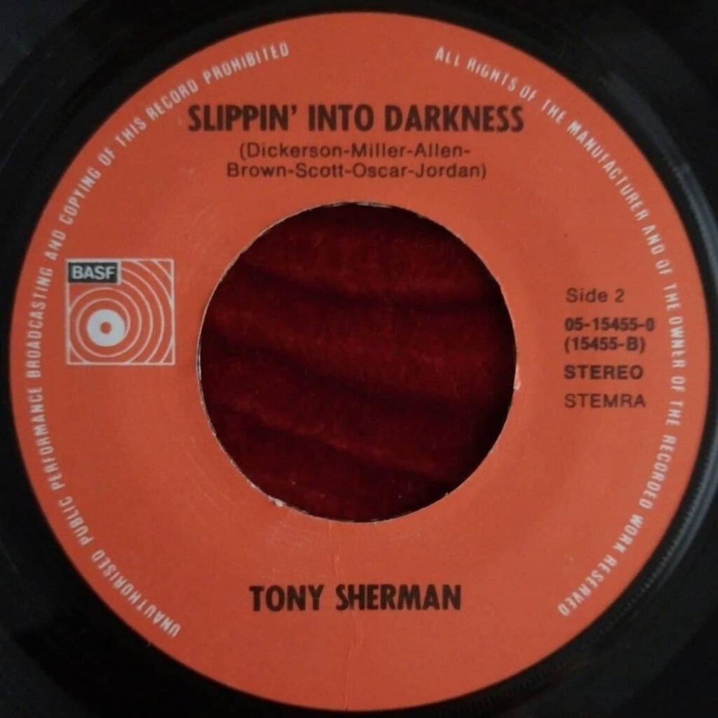 Tony Sherman - Slippin' Into Darkness ⋆ Florian Keller - Funk Related