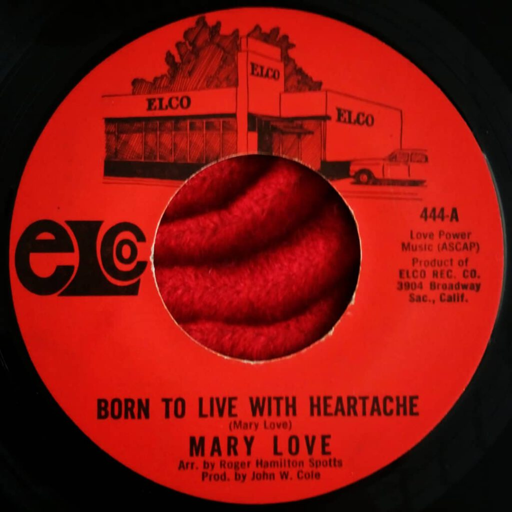 Mary Love ‎- Born To Live With Heartache ⋆ Florian Keller - Funk Related