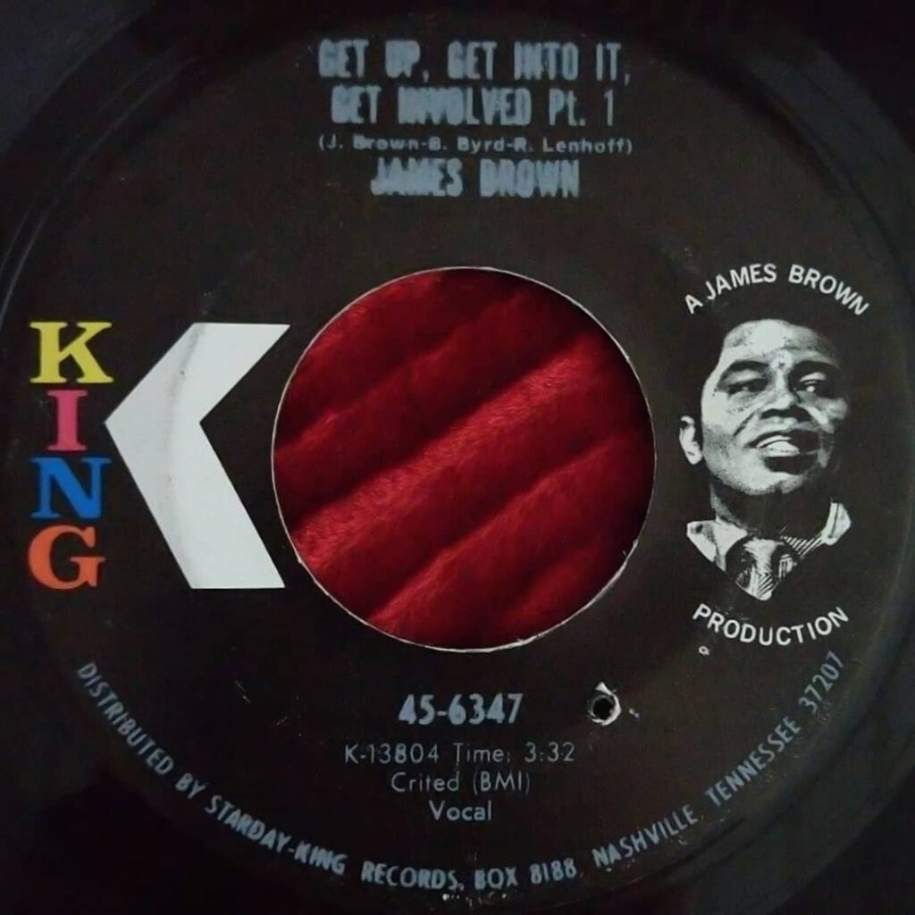 James Brown – Get Up, Get Into It, Get Involved ⋆ Florian Keller - Funk Related