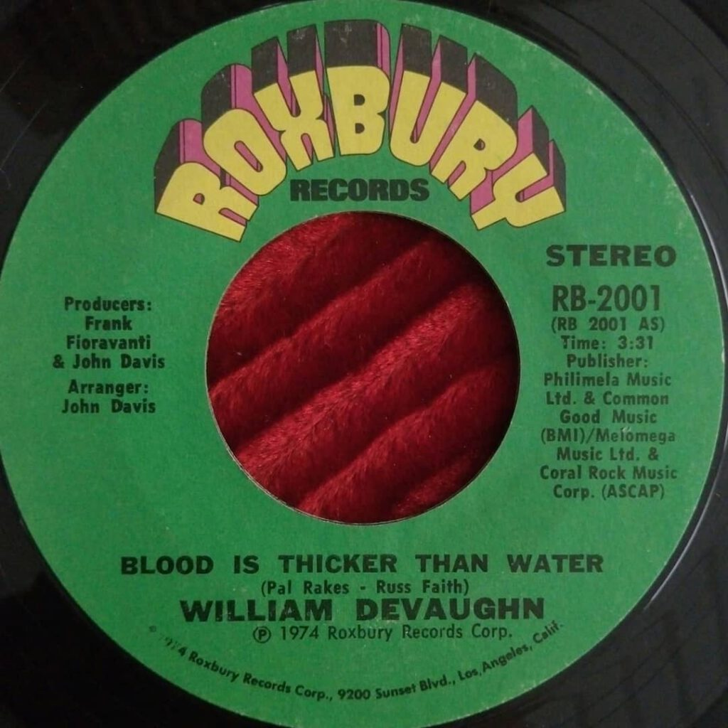 William DeVaughn – Blood Is Thicker Than Water ⋆ Florian Keller - Funk Related