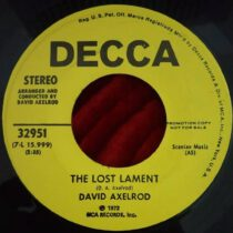 David Axelrod – The Lost Lament