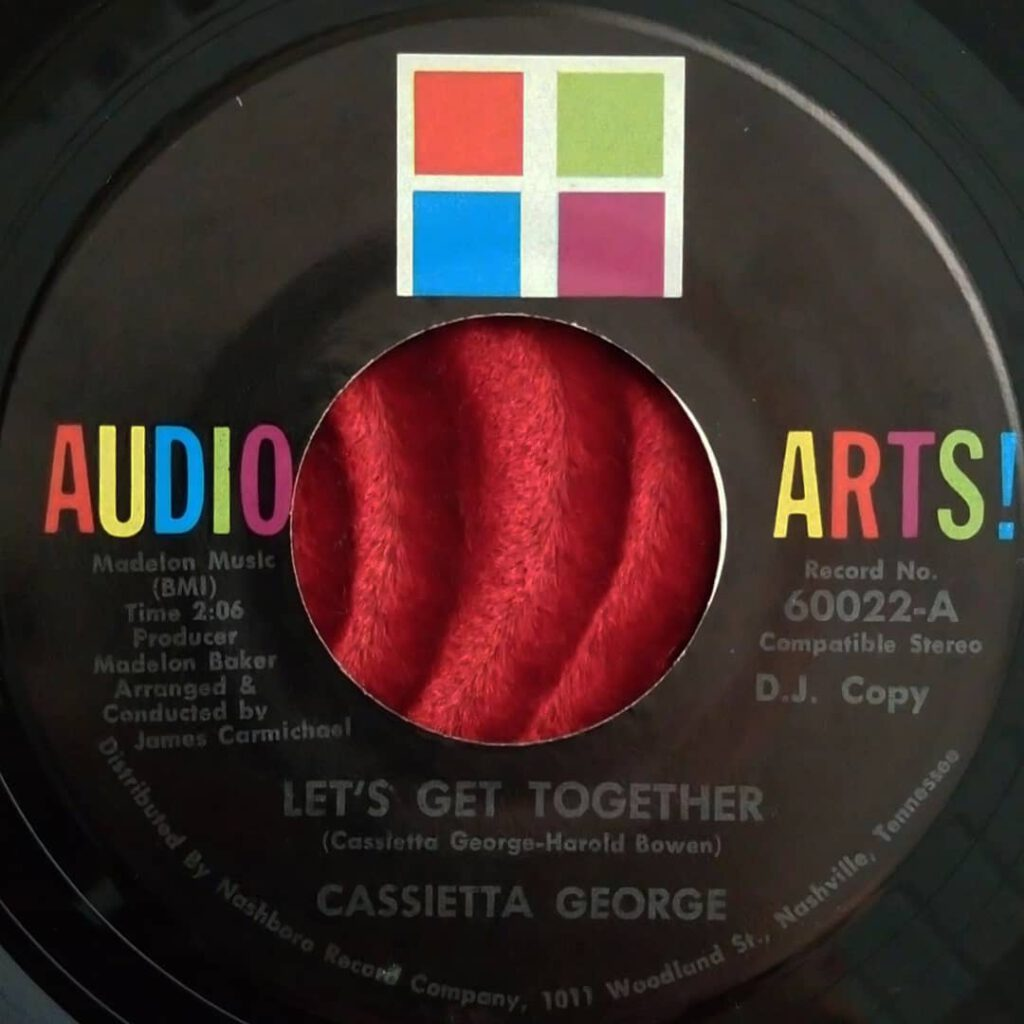 Cassietta George ‎- Let's Get Together ⋆ Florian Keller - Funk Related