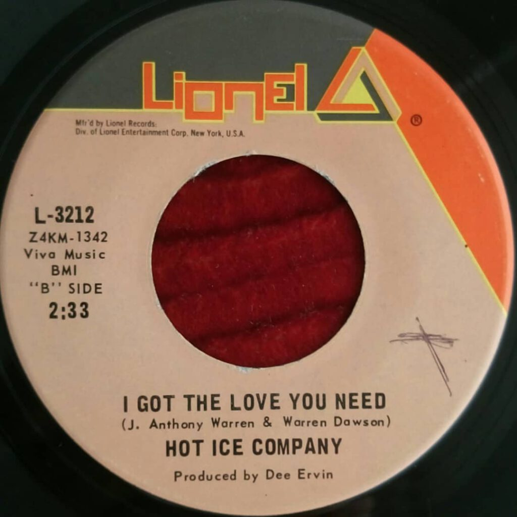 Hot Ice Company - I Got The Love You Need ⋆ Florian Keller - Funk Related