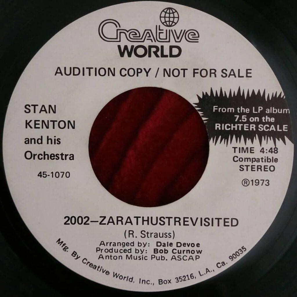 Stan Kenton - 2002 Zarathustrevisited ⋆ Florian Keller - Funk Related