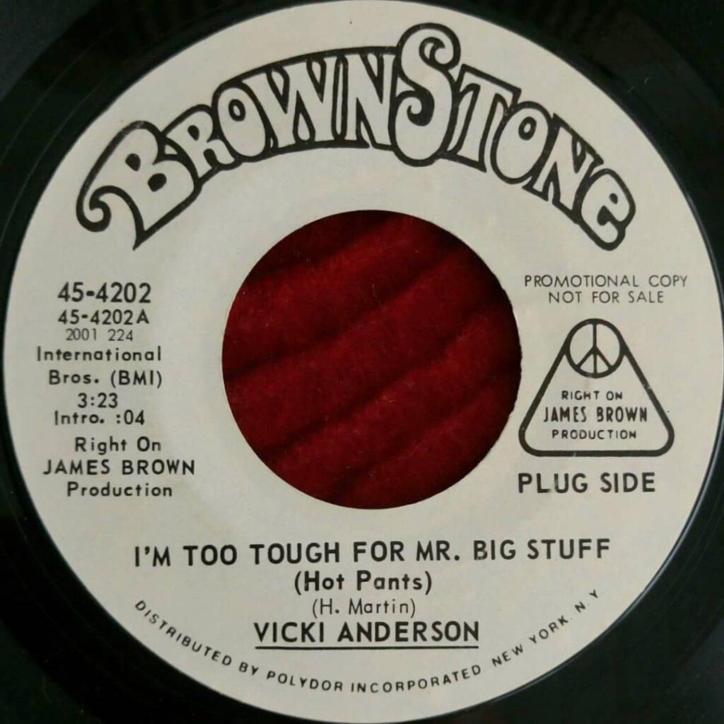 Vicki Anderson – I'm Too Tough For Mr. Big Stuff (Hot Pants) ⋆ Florian Keller - Funk Related