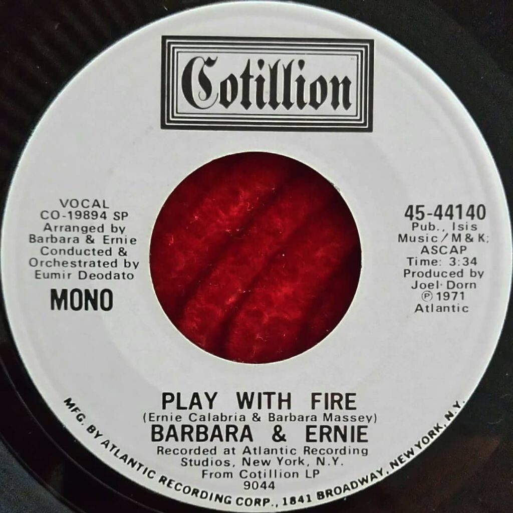 Barbara & Ernie ‎- Play With Fire ⋆ Florian Keller - Funk Related