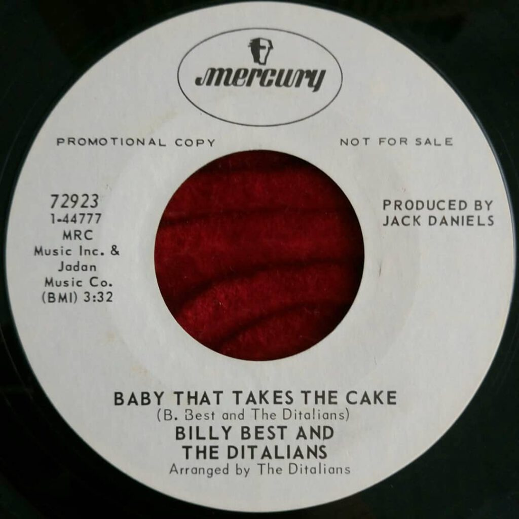 Billy Best And The Ditalians - Baby That Takes The Cake ⋆ Florian Keller - Funk Related