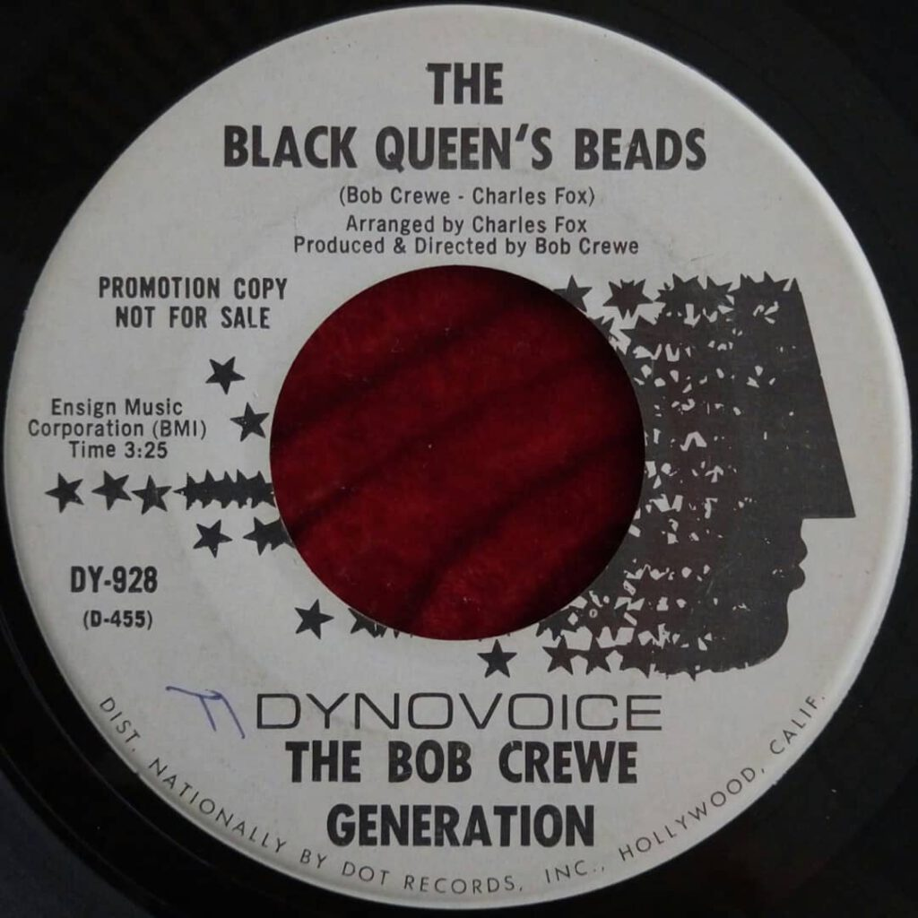 Bob Crewe Generation, The - The Black Queen's Beads ⋆ Florian Keller - Funk Related