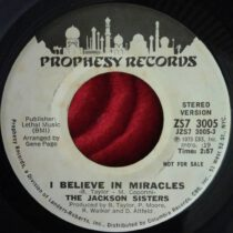 Jackson Sisters – I Believe In Miracles