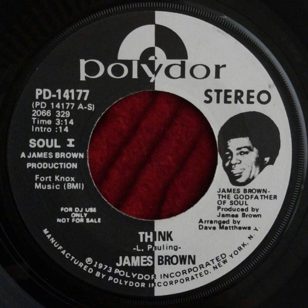 James Brown - Think (1973 Single Version) ⋆ Florian Keller - Funk Related