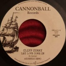 Cliff Curry – Let Love Come In (Acoustic Demo)