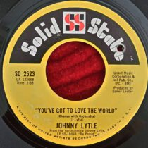 Johnny Lytle – You'e Got To Love The World