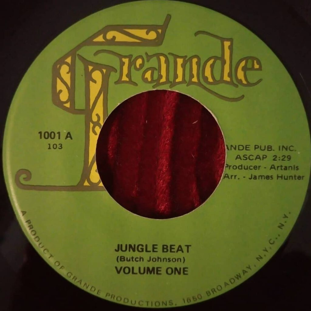 Volume One - Jungle Beat / If At Last ⋆ Florian Keller - Funk Related