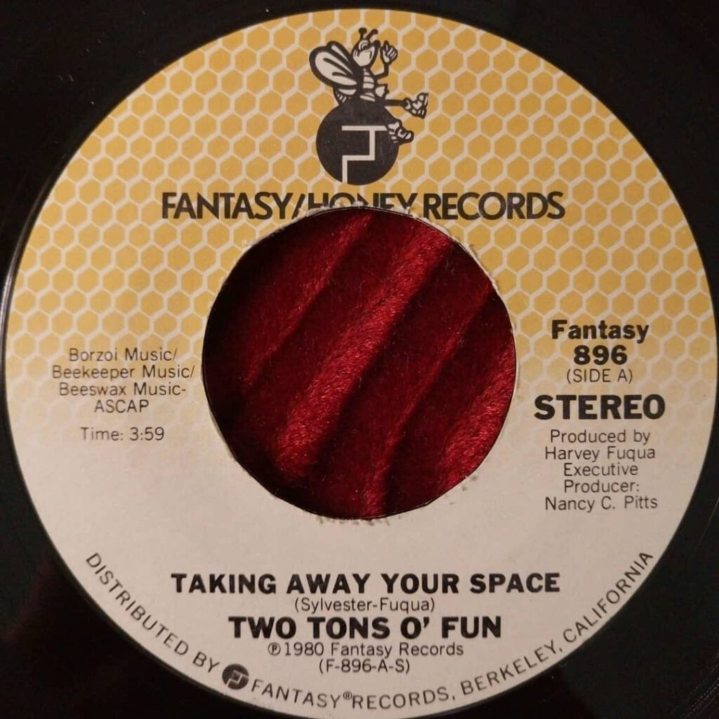 Two Tons O' Fun ‎- Taking Away Your Space ⋆ Florian Keller - Funk Related