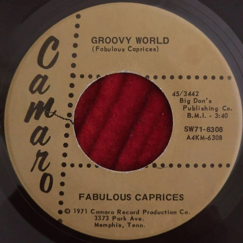 Fabulous Caprices - Groovy World / My Love ⋆ Florian Keller - Funk Related