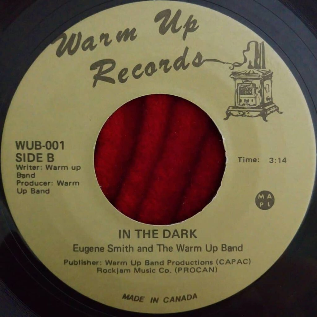 Eugene Smith & The Warm Up Band - In The Dark ⋆ Florian Keller - Funk Related