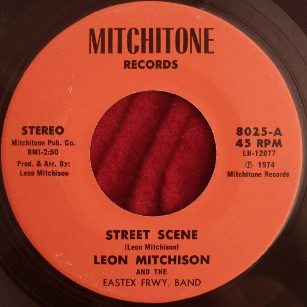 Leon Mitchison & The Eastex Frwy. Band - Street Scene / Love Is ⋆ Florian Keller - Funk Related
