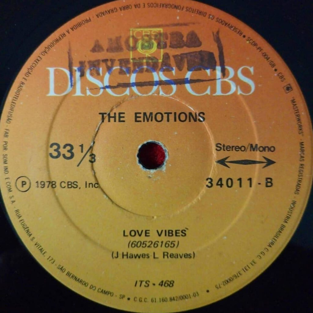 Emotions, The - Love Vibes ⋆ Florian Keller - Funk Related