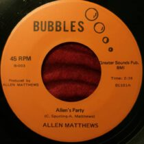 Allen Matthews – Allen's Party