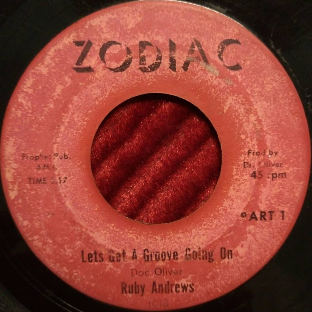 Ruby Andrews – Lets Get A Groove Going On ⋆ Florian Keller - Funk Related