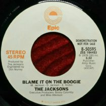 Jacksons - Blame It On The Boogie